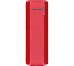 ULTIMATE EARS Boom 2 Portable Bluetooth Wireless Speaker - Red