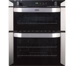 BELLING BI70G Gas Built-under Double Oven - Stainless Steel