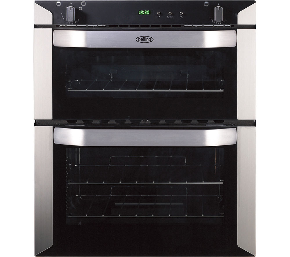 Compare retail prices of Belling BI70G Gas Built-under Double Oven to get the best deal online
