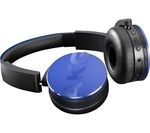AKG Y50BT Wireless Bluetooth Headphones - Blue