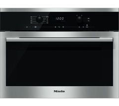 MIELE M6160TC Built-in Solo Microwave - Stainless Steel
