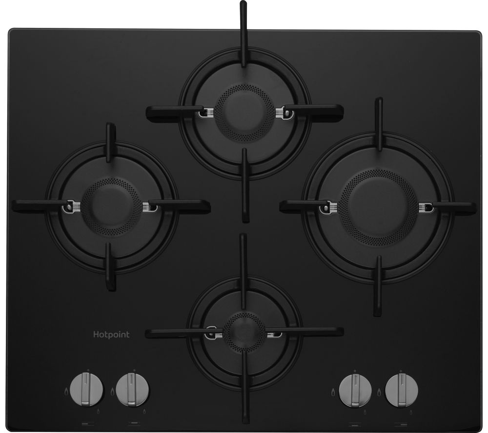gas stove flame. HOTPOINT Direct Flame FTGHG 641 D/H Gas Hob - Black Stove