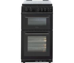 FS50GDOL 50 cm Gas Cooker - Black