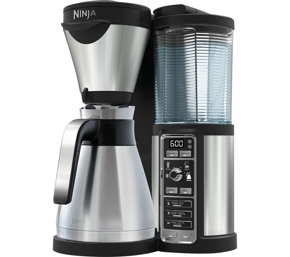 Compare retail prices of Ninja CF065UK Coffee Bar Steel Edition to get the best deal online