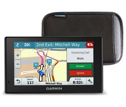 "GARMIN DriveSmart 51LMT-D EU 5"" Sat Nav - Full Europe Maps & Case"