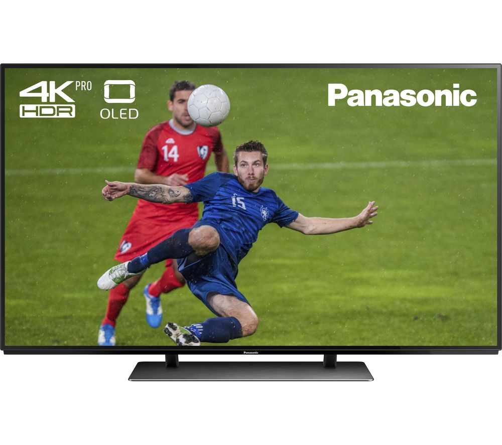 "PANASONIC TX-55EZ952B 55"" Smart 4K Ultra HD HDR OLED TV + S1HDM315 HDMI Cable with Ethernet - 1 m"