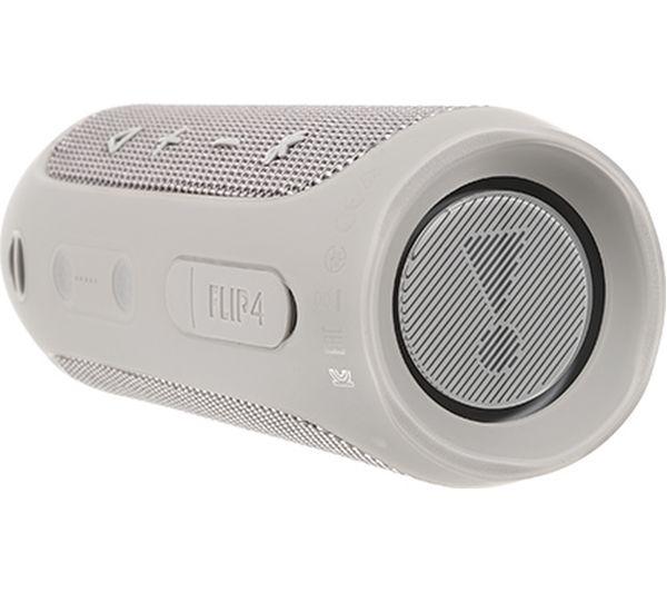 JBL Flip 4 Portable Bluetooth Wireless Speaker - Grey