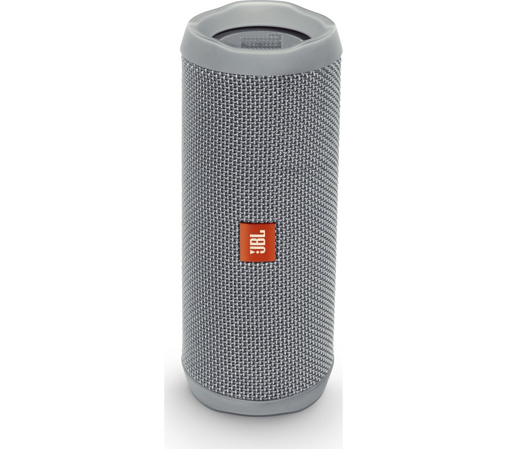 buy jbl flip 4 portable bluetooth wireless speaker grey free delivery currys