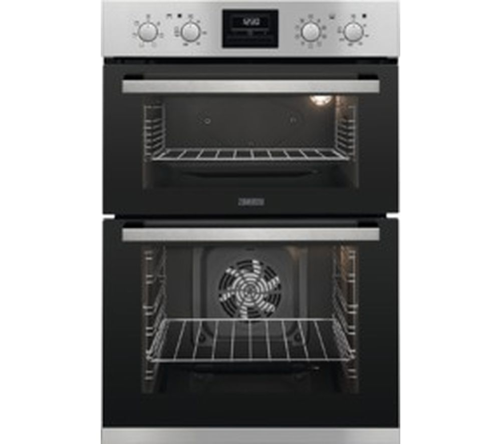 ZANUSSI ZOD35802XK Electric Double Oven - Stainless Steel