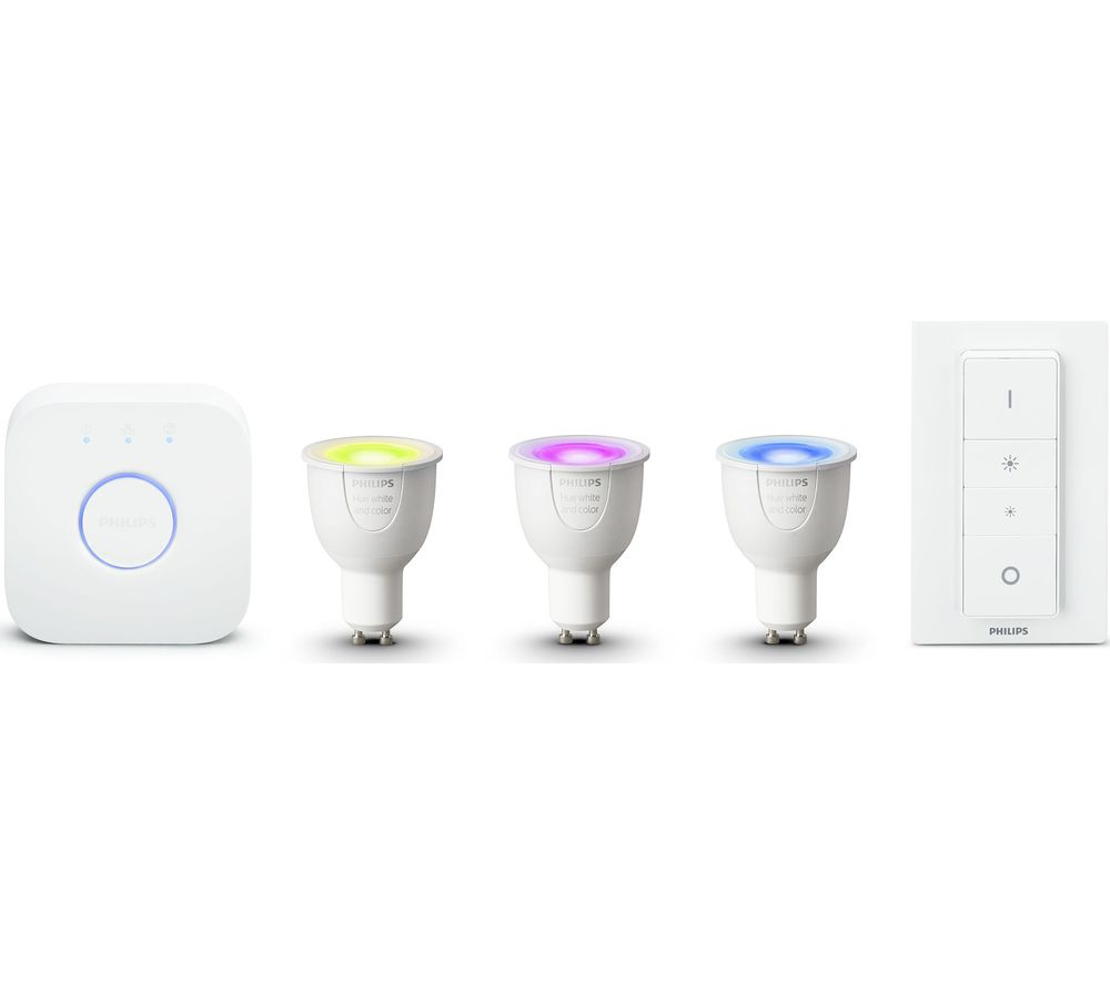 PHILIPS Hue White & Colour Ambience GU10 Starter Kit