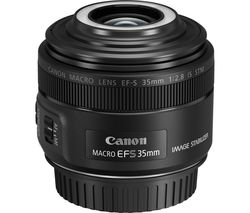 CANON EF-S 35 mm f/2.8 IS STM Macro Lens