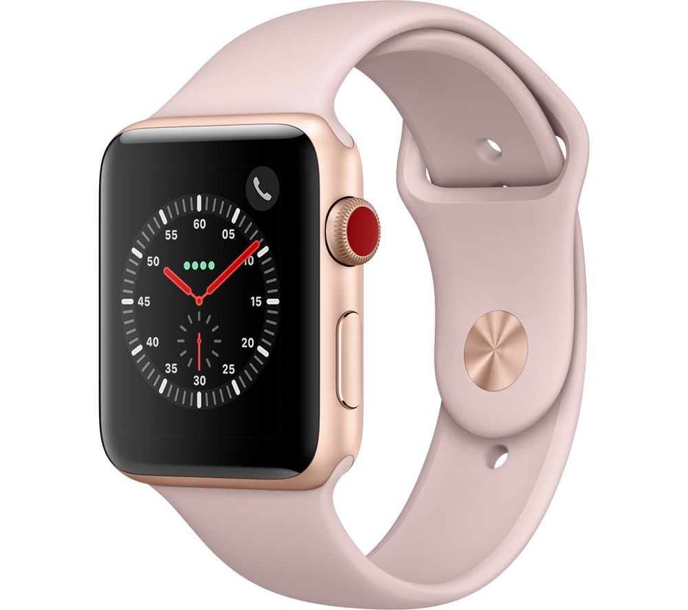 APPLE Watch Series 3 Cellular 42 mm Pink cheapest retail price