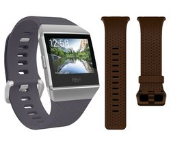 FITBIT Ionic - Blue Grey & White