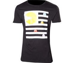 PAC-MAN Ghosts T-Shirt - Small, Black
