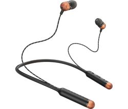 HOUSE OF MARLEY Smile Jamaica Wireless Bluetooth Headphones - Black