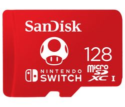 Ultra Class 10 microSD Memory Card for Nintendo Switch - 128 GB