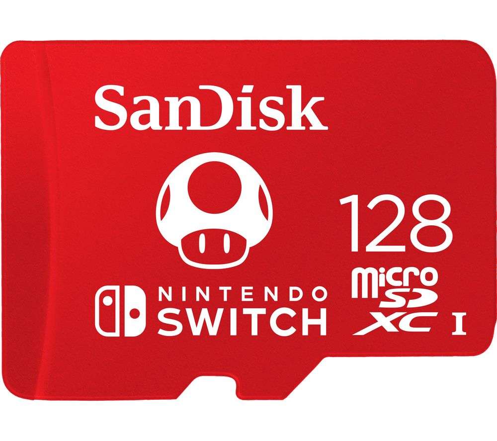 SANDISK Ultra Class 10 microSD Memory Card for Nintendo Switch - 128 GB