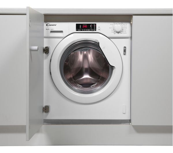 Buy CANDY CBWM816D-80 Integrated 1600 Spin Washing Machine ...