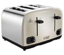 RUSSELL HOBBS Cavendish 24091 4-Slice Toaster - Cream