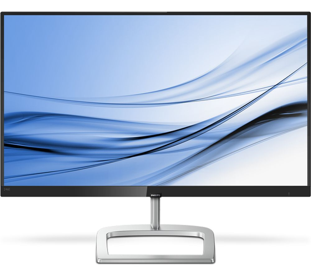"PHILIPS 276E9QJAB Full HD 27"" LCD Monitor - Black & Silver"