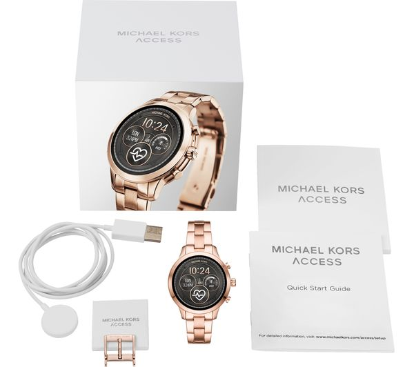 b99f71eaf072 Buy MICHAEL KORS Access Runway MKT5046 Smartwatch - Rose Gold
