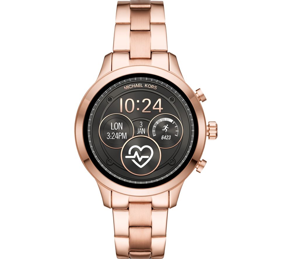 709675c1f56a Buy MICHAEL KORS Access Runway MKT5046 Smartwatch - Rose Gold