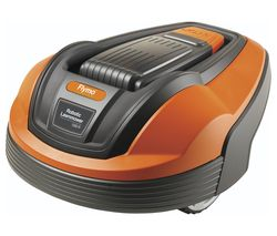 FLYMO 1200R Robot Lawn Mower - Orange & Grey