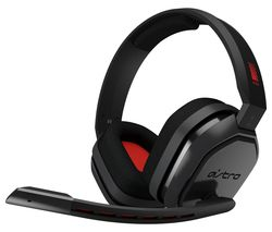 Image of ASTRO A10 Gaming Headset - Grey & Red