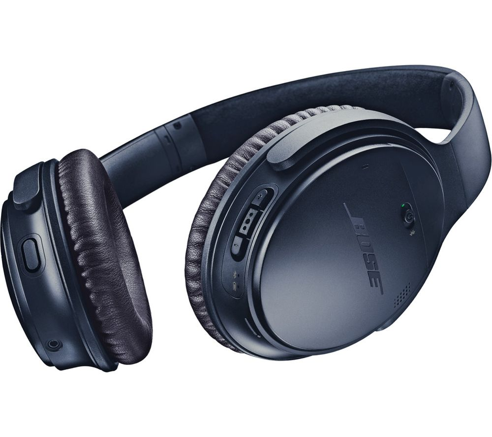 BOSE QuietComfort QC35 II Wireless Bluetooth Noise-Cancelling Headphones - Triple Midnight