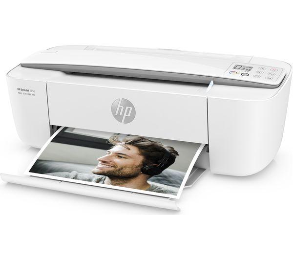 HP DeskJet 3750 All-in-One Wireless Inkjet Printer