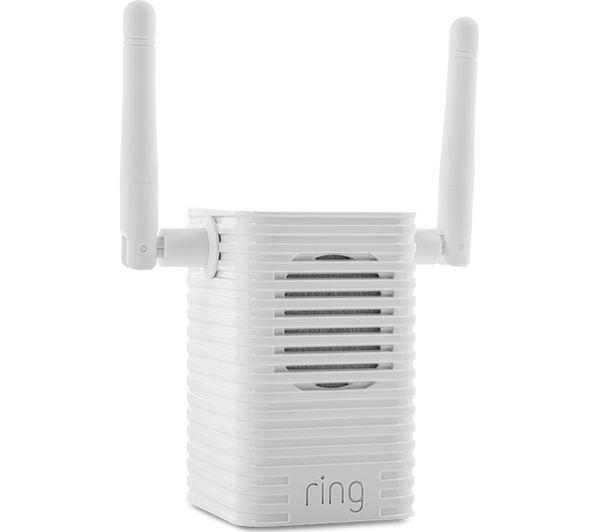 RING Video Doorbell 2, Chime Pro Wi-Fi Extender & Amazon Echo Spot Bundle -  White