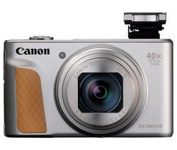 CANON PowerShot PowerShot SX740 HS Superzoom Compact Camera - Silver
