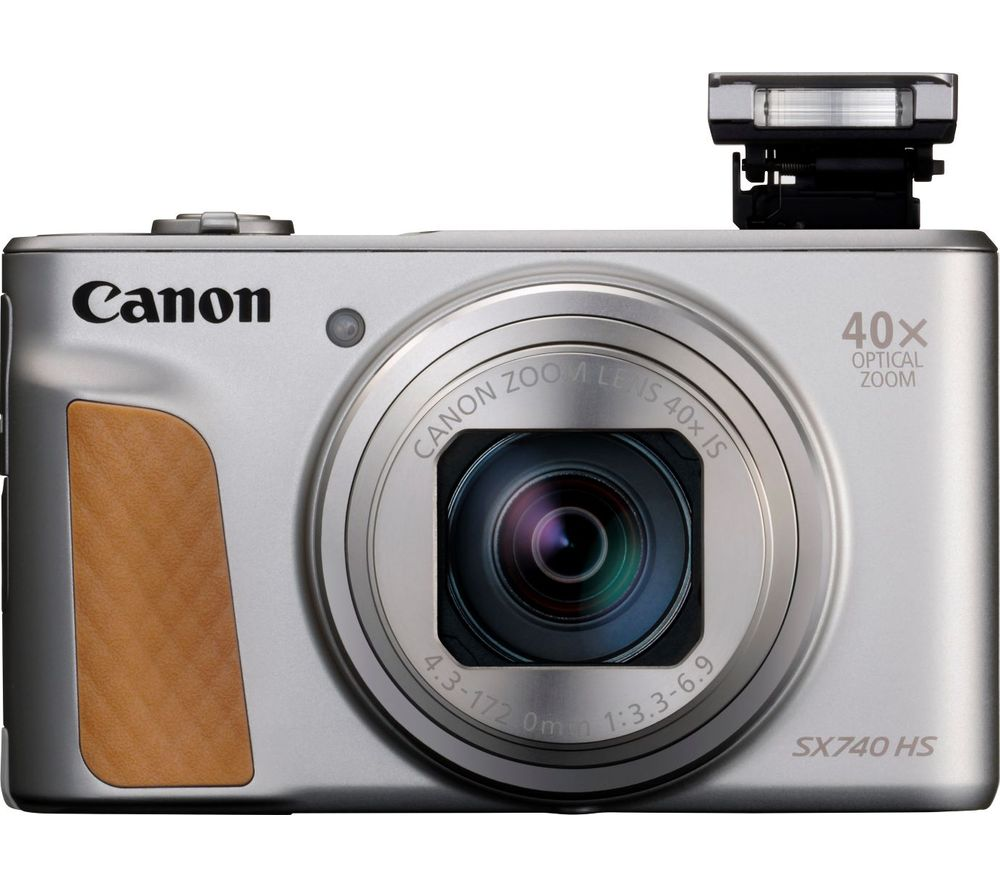 Click to view product details and reviews for Canon Powershot Powershot Sx740 Hs Superzoom Compact Camera Silver Silver.