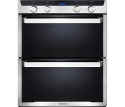 KENWOOD KD1701SS-1 Electric Built-under Double Oven - Black & Stainless Steel