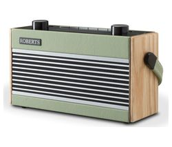 ROBERTS Rambler Portable DAB+/FM Retro Bluetooth Radio - Green