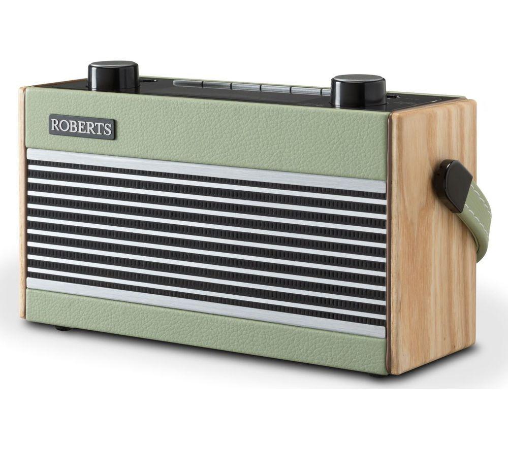 ROBERTS Rambler Portable DAB+/FM Retro Bluetooth Radio - Green