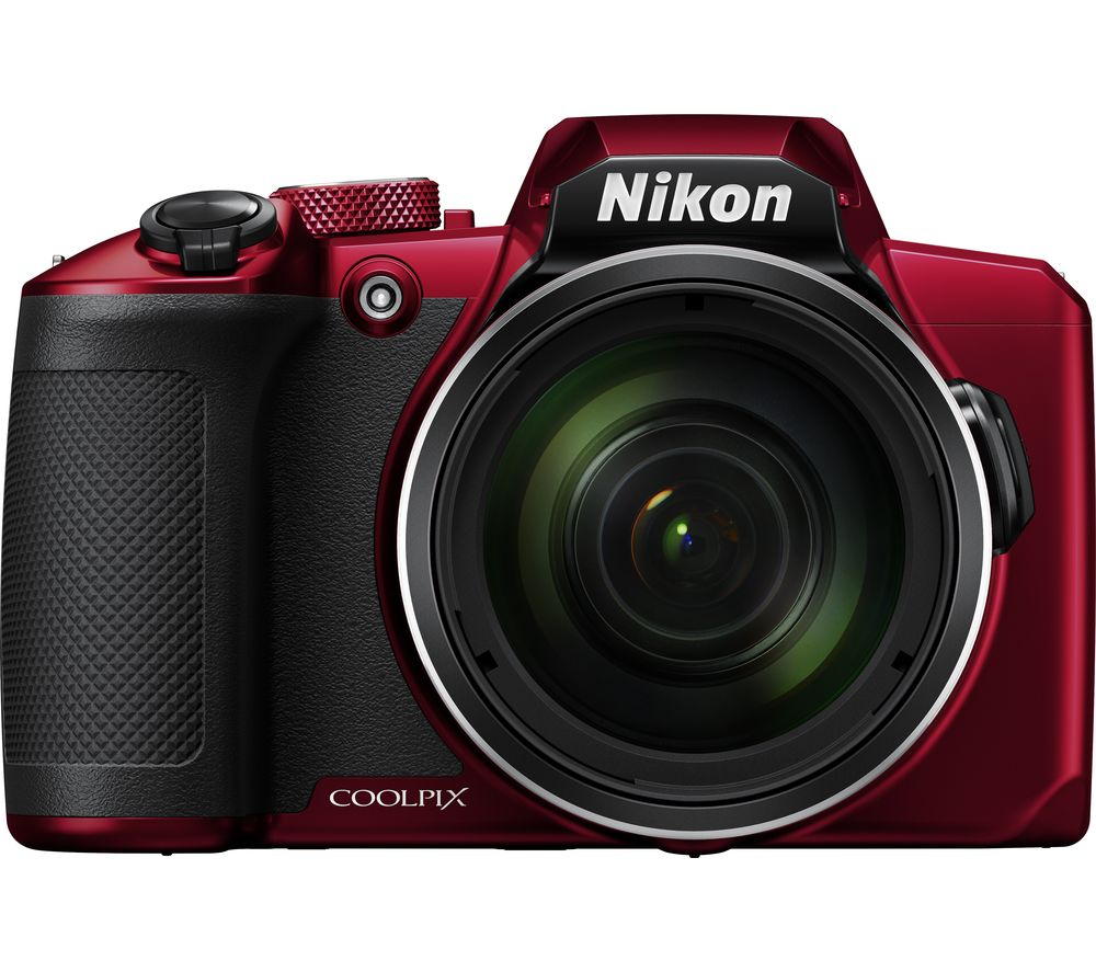 NIKON COOLPIX B600 Bridge Camera - Red, Red