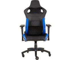 CORSAIR T1 Race Gaming Chair - Black & Blue