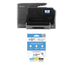 HP OfficeJet Pro 8715 All-in-One Wireless Inkjet Printer with Fax & Instant Ink £25 Prepaid Card Bundle
