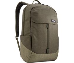 "THULE Lithos 20L 15.6"" Laptop Backpack - Green"