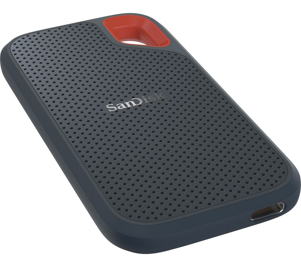 SANDISK Extreme Portable External SSD - 250 GB, Black