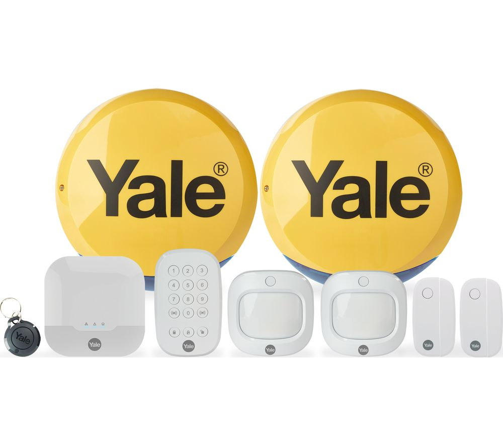 YALE Sync IA-330 Smart Home Alarm Family Kit Plus