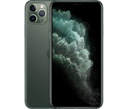 APPLE iPhone 11 Pro Max - 64 GB, Midnight Green