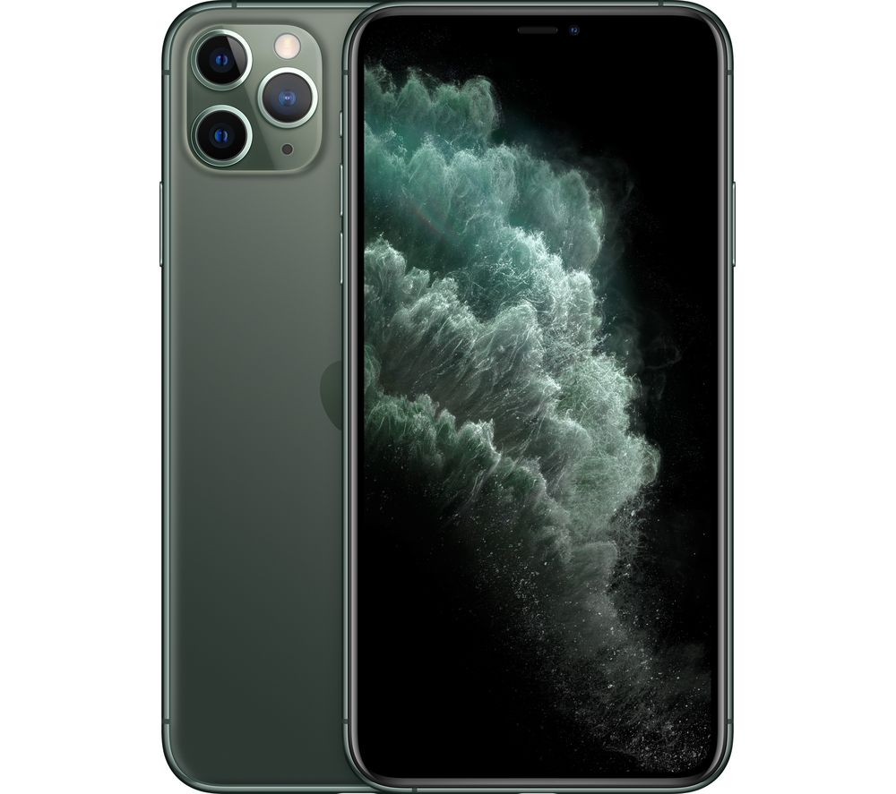 APPLE iPhone 11 Pro Max - 64 GB, Midnight Green
