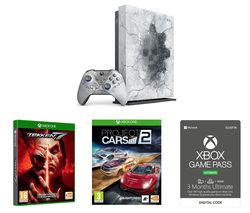 MICROSOFT Limited Edition Gears 5 Xbox One X, Tekken 7, Project Cars 2 & Xbox One Game Pass Ultimate Bundle