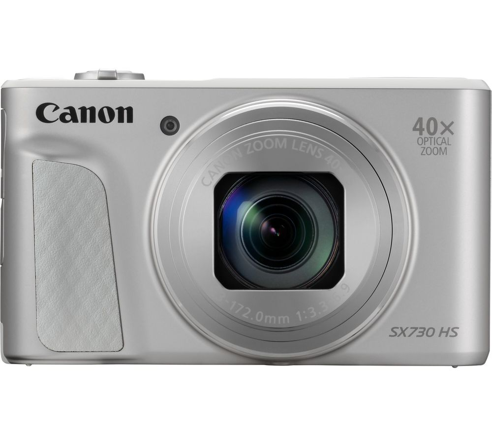 Click to view product details and reviews for Canon Powershot Sx730 Hs Superzoom Compact Camera With 32 Gb Sd Card And Case Silver Silver.