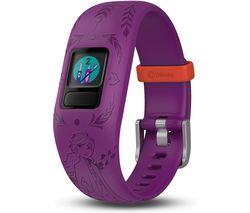 vivofit jr. 2 Kid's Activity Tracker - Purple Disney Frozen 2 Anna, Adjustable Band