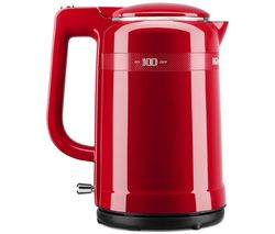 Image of KITCHENAID 100 Year Queen of Hearts Collection 5KEK1565HBSD Jug Kettle - Red