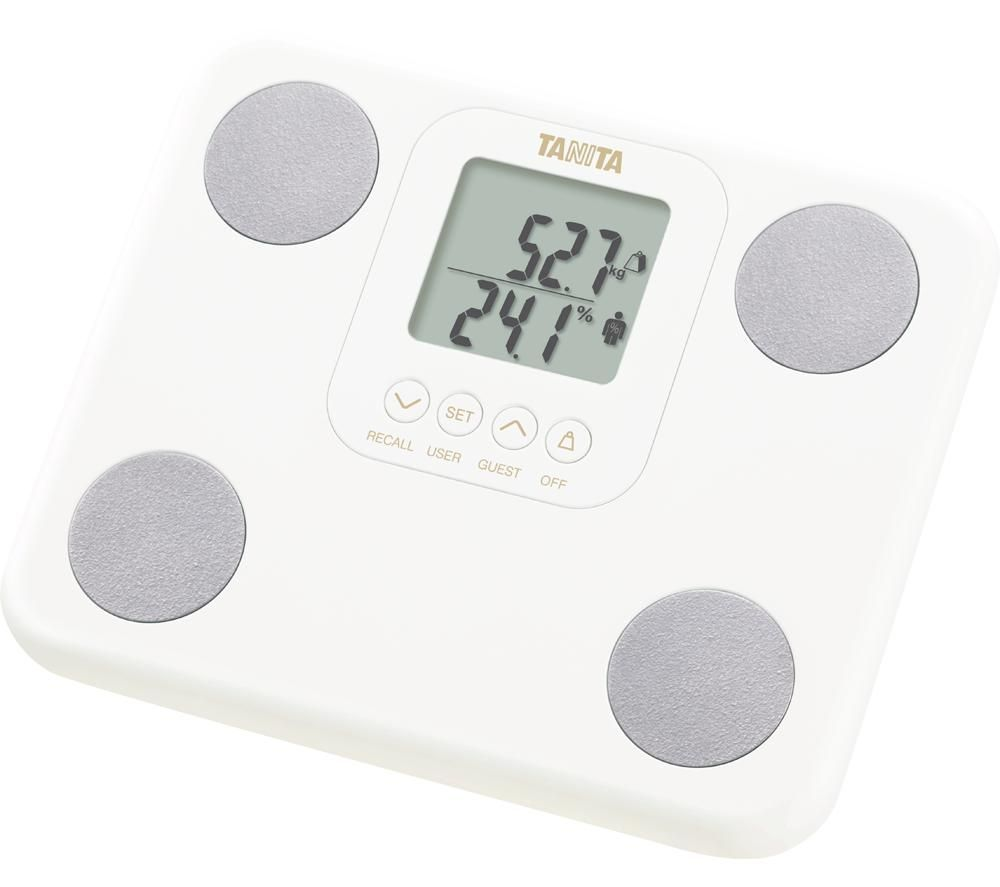 TANITA BC-730 Digital Bathroom Scales - White, White