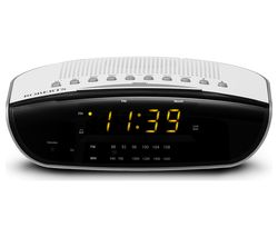 CR9971 Chronologic VI FM Clock Radio - White